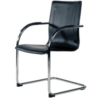 Gamma Visitor Chair Cantilever Black
