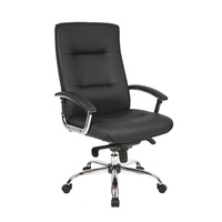 Georgia Manager Chair - Black
