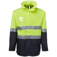 Zions 6Dnll Hivis Safety Wear - Day & Night L/Line Jacket