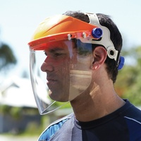 Browguard With Visor Assembled Antifog 99.9% Uv Protection