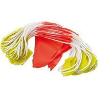 Bunting Triangle Flags Hivis Fluorodaynight 45Flags