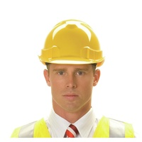 Zions Vented Hard Hat, 6 Point Harness. Lightweight #Phhv