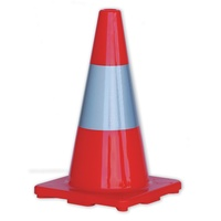 Zions Reflective Traffic Cones 450mm Orange