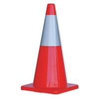 Zions Reflective Traffic Cones 700mm Orange